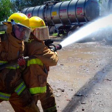 Incendio simulacro1