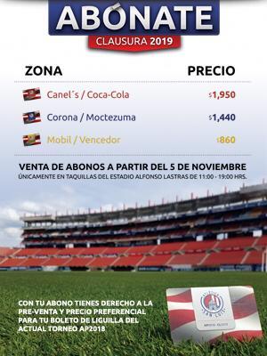 Atlético bono